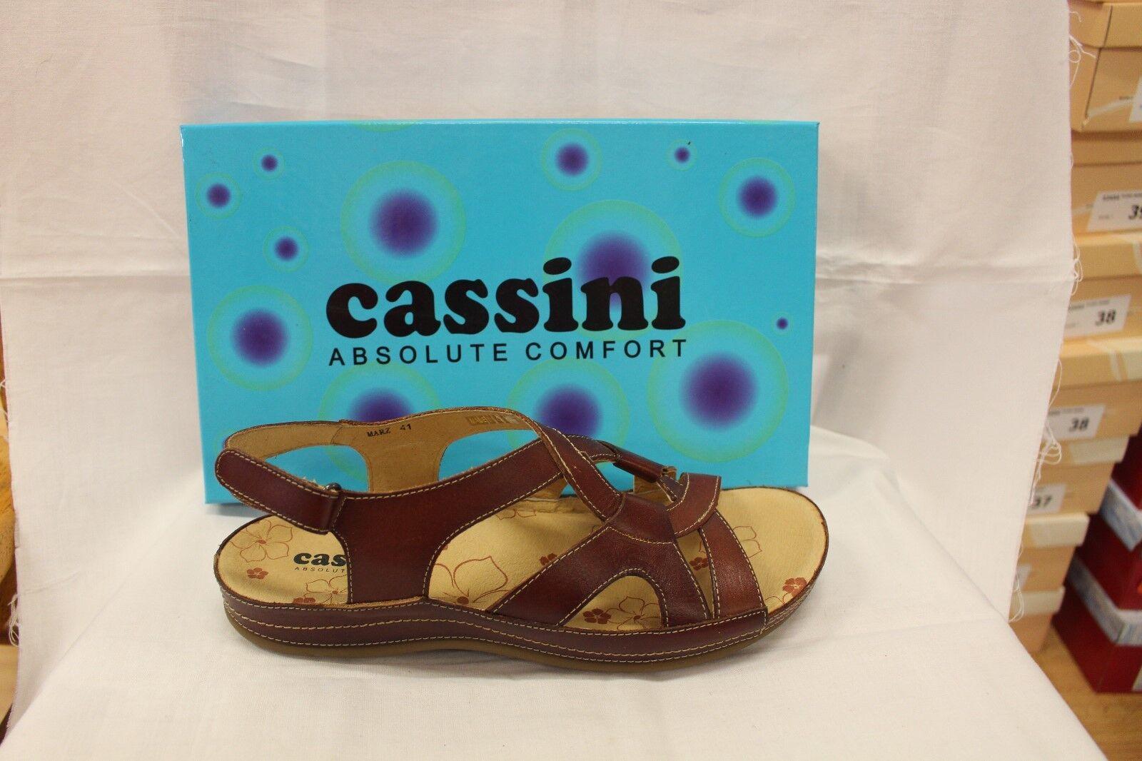 Damas Zapatos Calzado-Cassini Calzado-Cassini Calzado-Cassini Marz Coñac Sandalia  Entrega gratuita y rápida disponible.