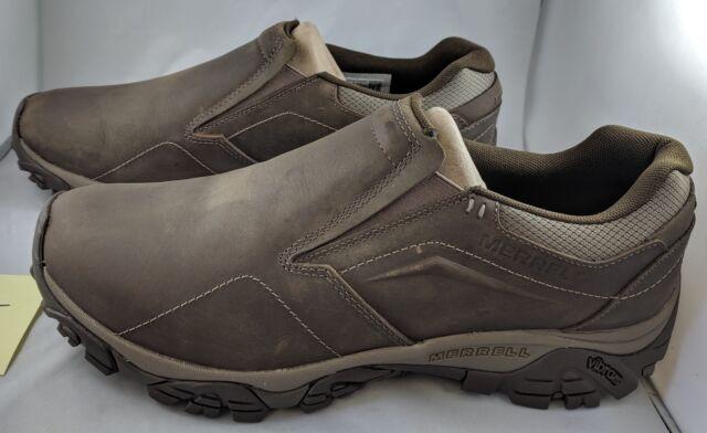 2590e833 Merrell Men's Moab Adventure MOC Hiking Shoe Boulder 13 2e US