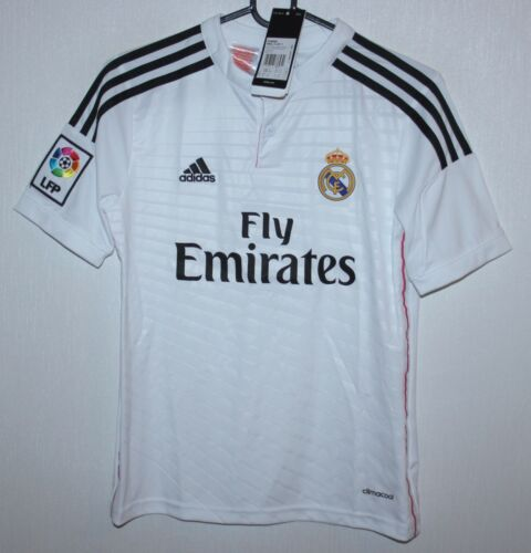 Real Madrid Spain home shirt 1415 #7 Ronaldo Adidas BNWT KIDS M