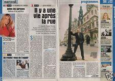 Coupure de presse Clipping 2000 Daniel Hentzé ancien SDF (1 page 1/3)