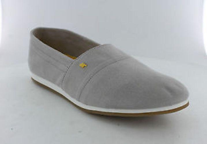 Boxfresh Light ESS Canvas Shoes - Light Boxfresh Grey/Yellow size 6 now 50% off 67b2e1