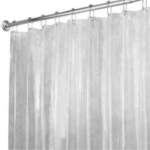 Image Is Loading InterDesign Shower Curtain Liner Clear Vinyl 72 X