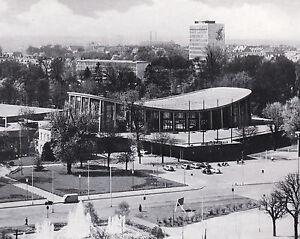 Karlsruhe - Die neue Schwarzwaldhalle - um 1950  RAR