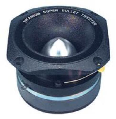 "NEW 1.5/"" Tweeter.Super Bullet Type.Titanium.Pro Home Audio Use.Speaker.Highs 1"