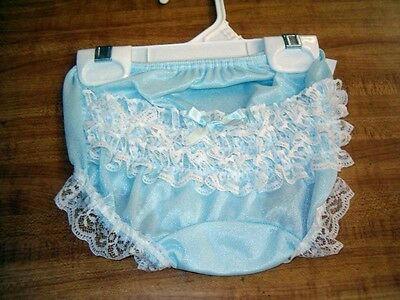 """18-24 Months """"Boutique/"""" Pink Rhumba Lace Rear Diaper Cover Panty Bloomers NWT"""