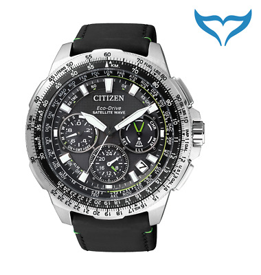 Citizen Satellite Wave Air GPS CC9030-00E 20 bar Eco-Drive Saphir Edelstahl