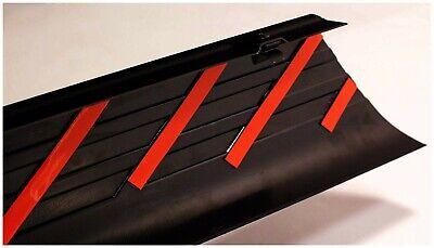 Truck Bed Side Rail Protector-Ultimate SmoothBack Bed Rail Cap BUSHWACKER TM