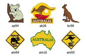 50 x 30 mm Sydney Stadt Flagge Australien Flag Patch Aufnäher Aufbügler 0699 A