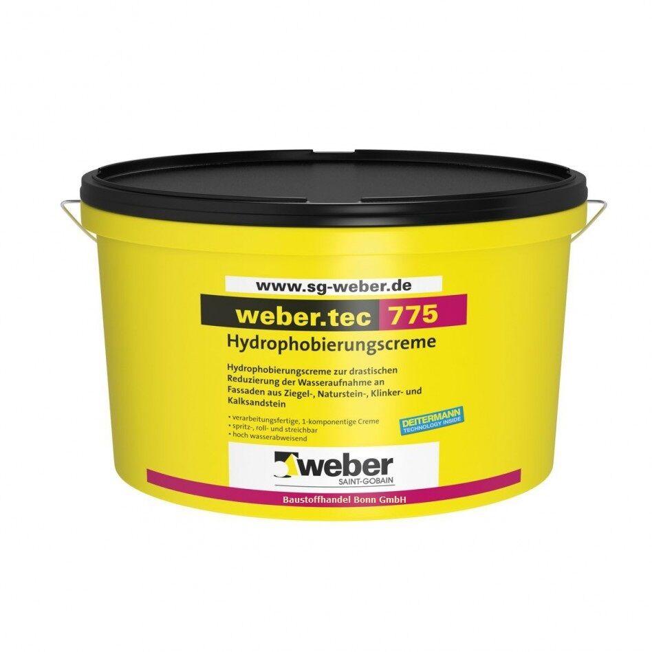 GP /L) 4 Liter Weber.tec 775 Hydrophobierungscreme Fassaden Imprägnierung