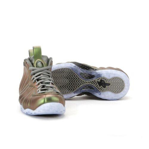 Nike Foamposite One UK 5.5 (EUR 39) Oscuro estuco Negro AA3963 001 Nuevo