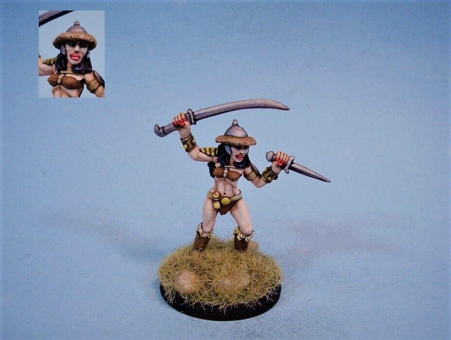 Ral partha painted miniature cute sexy  female Warrior