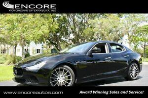 2016 Maserati Ghibli 4 Door Sedan S W/Navigation