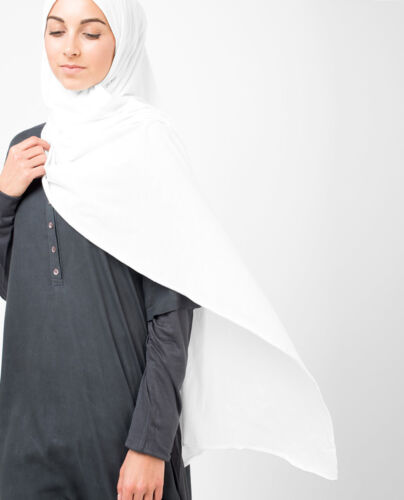 Ready to Wear Jersey Pullover Sciarpa Hijab di alta qualità cotone elasticizzato Scialle