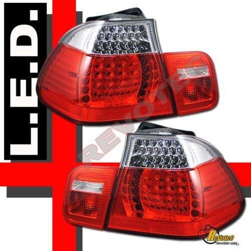2002-2005 BMW E46 4DR Sedan 325i 325xi 330i 330xi LED Tail Lights