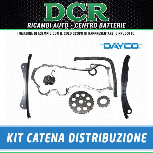 1.3 JTD 70CV 843/_ Kit catena distribuzione 9PZ DAYCO KTC1067 LANCIA YPSILON