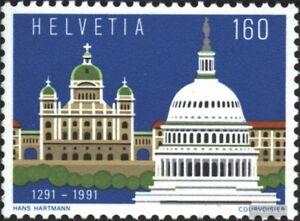 Schweiz-1442-kompl-Ausg-gestempelt-1991-Schweiz-USA