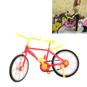 Fashion-Barbie-Doll-Bike-Accessories-Toy-Play-House-Plastic-Bicycle-Toy-O