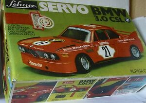 Repro Box Schuco Servo BMW 3,0 CSL Jägermeister