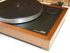 Ariston rd80 SL Vintage 2 Speed Belt Drive Record Vinyl Deck Player Plattenspieler