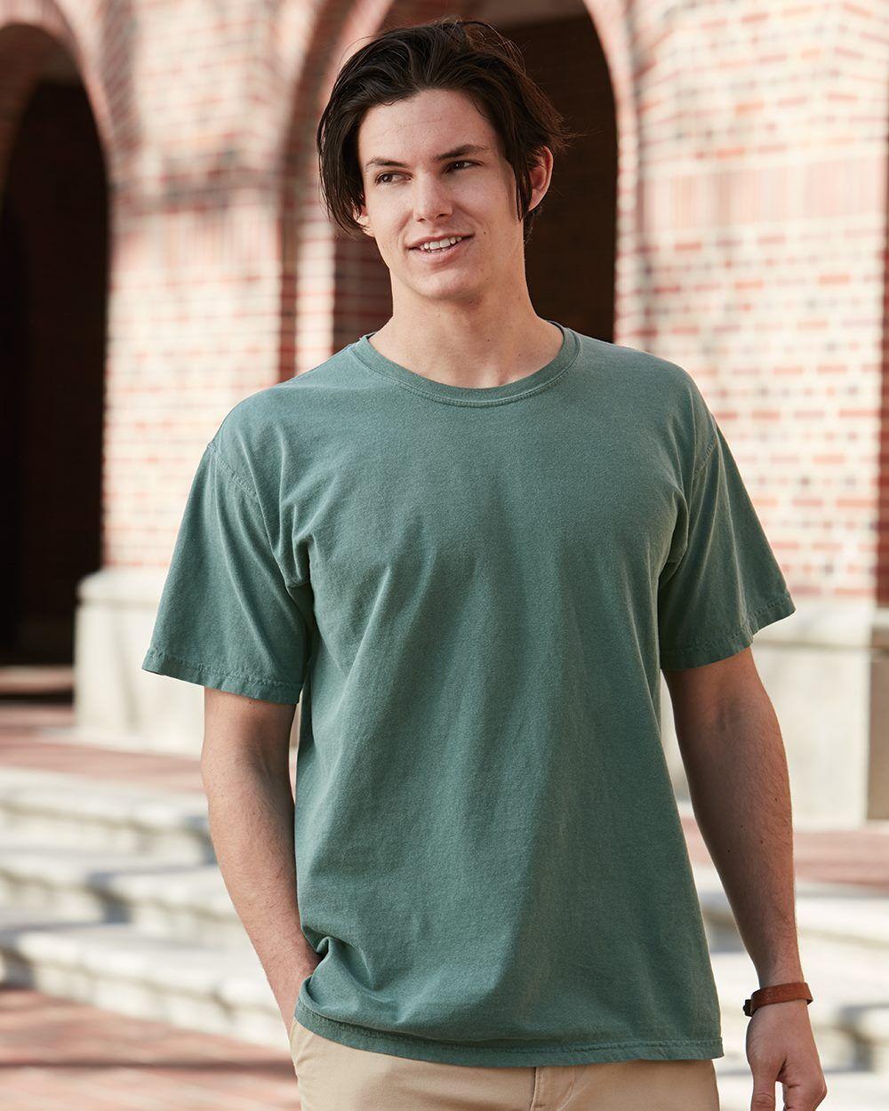 12 Comfort Farbes Garment Dye T-Shirt Wholesale Bulk Lot ok to mix S-XL & Farbes