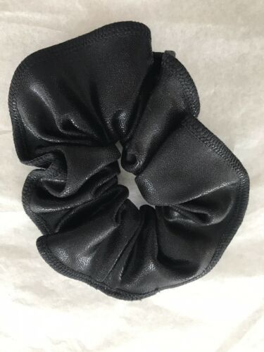 Black Shiny Hair Scrunchie Brand New