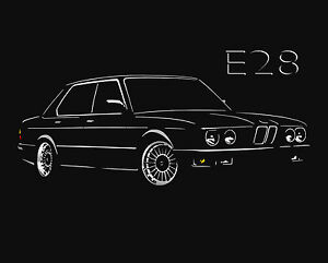 bester Platz klare Textur Factory Outlets Details about E28 T SHIRT 520 525 528 535 m5 for BMW e28 fans 5-Series S -  5xl + Long Sleeve- show original title