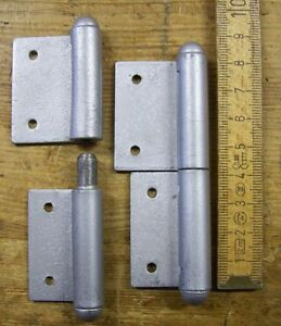 Fitschenband 2 Einstemmbaender //Tuerband Fensterband links 80mm
