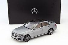 I-SCALE Mercedes-Benz E-Class (W213) AMG DESIGNO SELENITE GREY DEALER 1:18*New