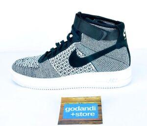 Shop US Nike Air Force 1 Ultra Flyknit Mid Dark Grey