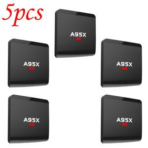 5X A95X R1 Smart Android 7.1.2 TV Box Quad Core Mini PC 1GB 8GB H.265 WiFi Media