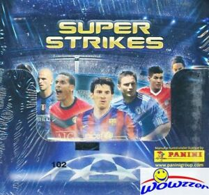 2009-10-Panini-Adrenalyn-Champions-League-50-Pack-Factory-Sealed-Box-300-Cards