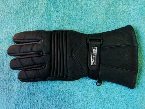BIKERS GEAR Australian Real Leather Men/'s Motorcycle Gloves Thinsulate Large