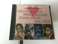Heart & Soul CD Edwin Starr, Percy Sledge, The Chilites, Brook Benton, etc.