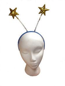 Image Is Loading Gold Glitter Star Head Boppers Headband Christmas Nativity