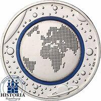 Blauer Planet Erde 5 Euro Deutschland 2016 - Münze mit Münzzeichen unserer Wahl