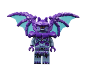 Lego Gargoyle 70352 70359 Wings with Dark Purple Bones Nexo Knights Minifigure