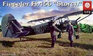 FIESELER-Fi-156-STORCH-034-Legion-Condor-034-amp-LUFTWAFFE-MARKINGS-1-72-plastyk