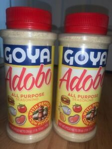 Goya Adobo Seasoning With Pepper 28 Oz Adobo Goya Con Pimienta 2 Pack Ebay