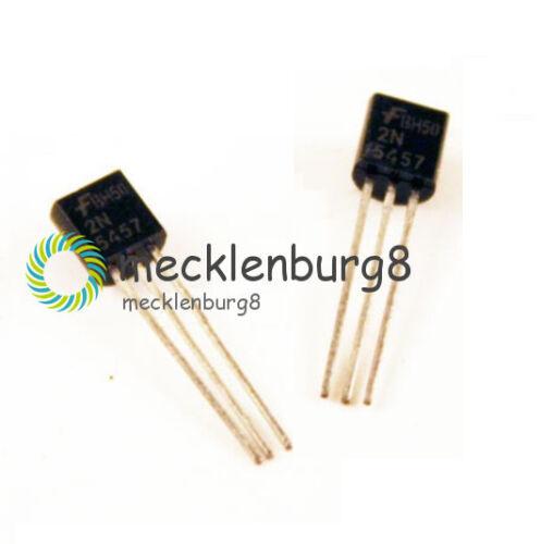 5PCS NEW 2N5457 FSC JFET N-CH 25V 625MW TO-92