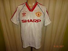 "Manchester United Adidas Europa-Pokal Gewinner Trikot 1991 ""SHARP"" + Nr.4 Gr.M"