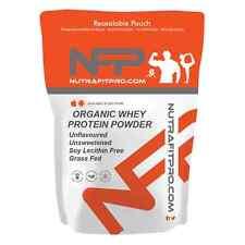 Organico proteina di siero di latte in polvere 500g non aromatizzato non zuccherato LECITINA DI SOIA GRATIS