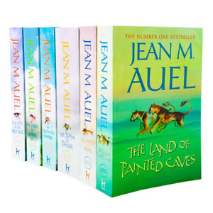 Earths-Children-Series-6-Books-Children-Collection-Paperback-Set-By-Jean-M-Auel