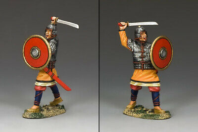 TEAM MINIATURES ROMAN EMPIRE ROM012 SECUTOR GLADIATOR SLASHING WITH SWORD MIB