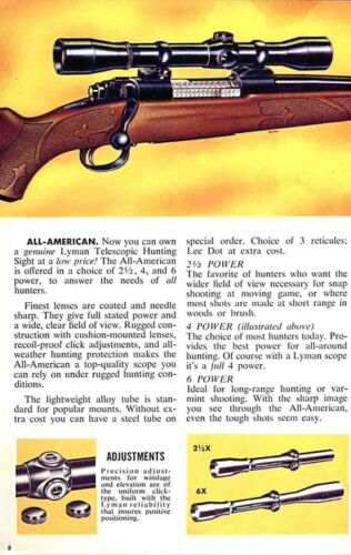 Lyman 1955 Sights and Reloading Tools No 40 Catalog
