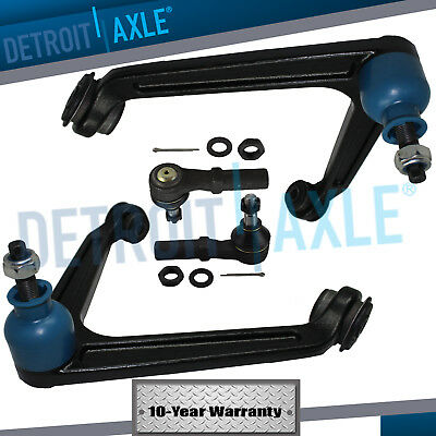 Front Inner Tie Rods/… Both New Complete 6 -Piece Front Suspension Kit for 2002-2005 Dodge Ram 1500-10-Year Warranty- Both 2 Outer Tie Rods Both Front Lower Ball Joints 2 Detroit Axle 2