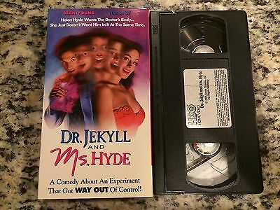 Dr. Jekyll and Ms. Hyde (1995) VHS Sean Young Tim Daly ...