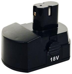 Trademark Stalwart Tools 18v Nicd Battery 75 6618v For 78 Pc Cordless Drill Kit Ebay