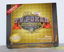 Deluxe TV Poker Texas Hold'em Video Game