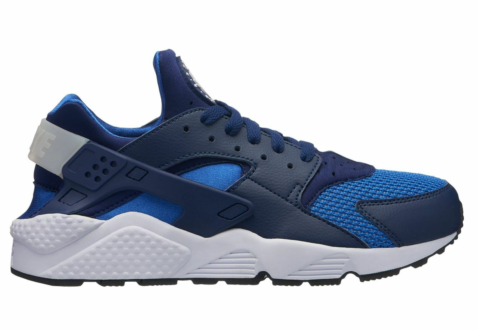 New Nike Men's Air Huarache Running Shoes (318429-421) Blue Void//White/Gm Royal