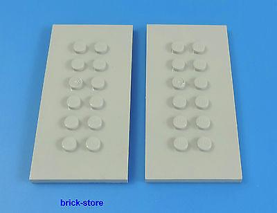 LEGO®   4x8 hellgraue Platten Eisenbahn Container Platten   2 Stück